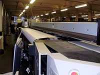 Used NUR Expedio 5000 large wide format banner printing machine